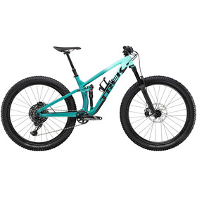 Trek Fuel EX 9.8 GX miami green to teal fade